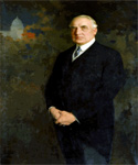 Warren G. Harding, 29th President, Painted by Edmund Hodgson Smart  (Painting ID: CM-0029-KA)