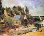 Washerwomen at Pont-Aven by  Paul Gauguin (Painting ID: GA-0209-KA)