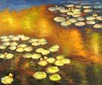 Water Lilies 14 by  Claude Monet (Painting ID: MO-1014-KA)
