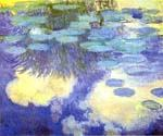 Water Lilies 19 by  Claude Monet (Painting ID: MO-1019-KA)