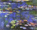 Water Lilies 21 by  Claude Monet (Painting ID: MO-1021-KA)