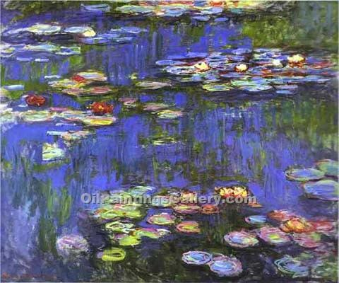 """Water Lilies 21"" by  Claude Monet"