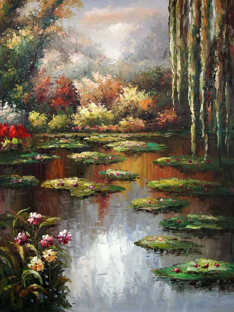 """Water Lillies Pond"""
