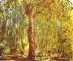 Weeping Willow by  Claude Monet (Painting ID: MO-1027-KA)