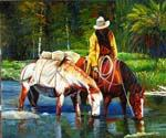 Western Trail  (Painting ID: AN-2156-KA)
