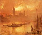 Westminister London by  Albert Goodwin (Painting ID: LA-1946-KA)