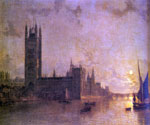 Westminster Abbey by  Henry Pether (Painting ID: CI-0402-KA)