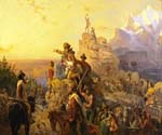 Westward the Course of Empire Takes Its Way by  Emanuel Gottlieb Leutze (Painting ID: CL-2765-KA)