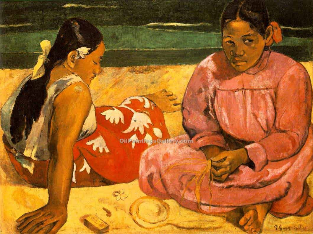 """What"" by  Paul Gauguin"
