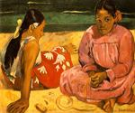 What by  Paul Gauguin (Painting ID: GA-0319-KA)