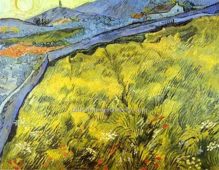 """Wheat Field"" by  Vincent Van Gogh"