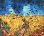Wheatfield with Crows by  Vincent Van Gogh (Painting ID: VG-0160-KA)