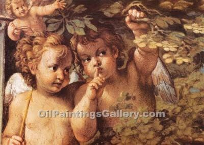 Whispering Angel by AgostinoCarracci | Where To Buy Art - Oil Paintings Gallery