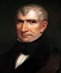 William Henry Harrison, 9th President, Painted by James Reid Lambdin  (Painting ID: CM-0009-KA)