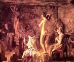 William Rush Carving His Allegorical by  Thomas Eakins (Painting ID: ED-1052-KA)