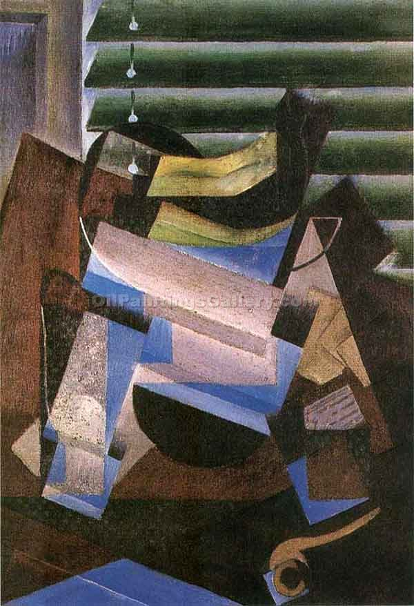 """Window Blind"" by  Juan Gris"