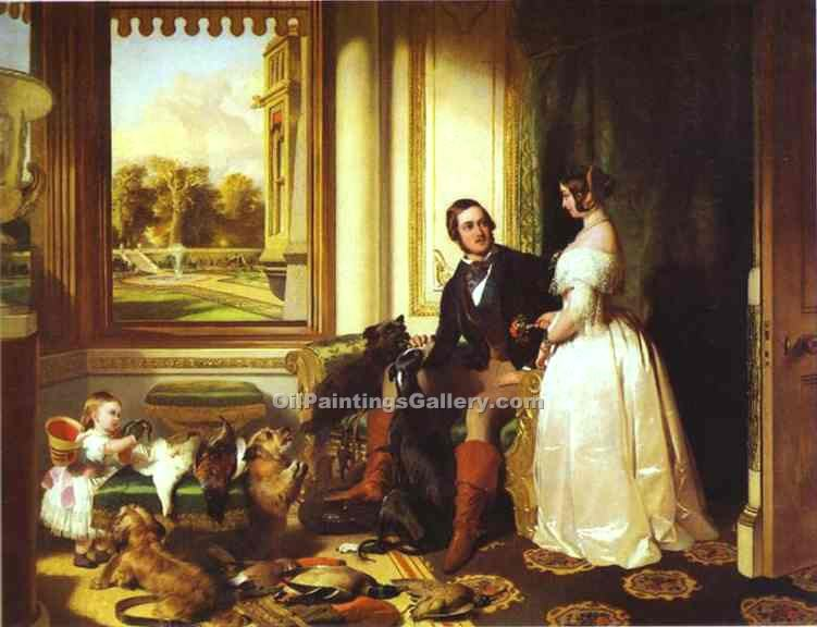 """Windsor Castle in Modern Times"" by  Sir Edwin Henry Landseer"