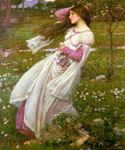Windswept by  John William Waterhouse (Painting ID: CL-4213-KA)
