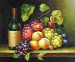 Wine and Grapes 28  (Painting ID: SL-1228-KA)
