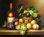 Wine and Grapes 32  (Painting ID: SL-1232-KA)