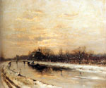 Winter 12 by  Louis Apol (Painting ID: LA-1712-KA)