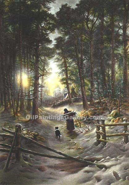 """Winter 43"" by  Joseph Farquharson"