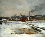 Winter Landscape 27 by  John Twachtman (Painting ID: LA-2527-KA)