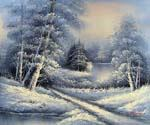 Winter Wonderland 46  (Painting ID: LA-5946-KA)