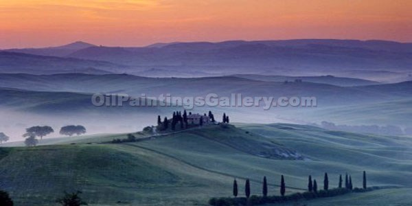 """Winter in Tuscany"""