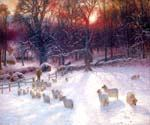Winters Day by  Joseph Farquharson (Painting ID: AN-0999-KA)