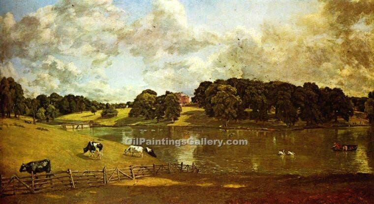 """Wivenhoe Park Essex"" by  John Constable"