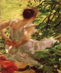 Woman Dressing 12 by  Anders Zorn (Painting ID: ED-0512-KA)