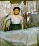 Woman Ironing by  Edgar Degas (Painting ID: ED-1041-KA)