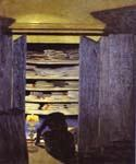 Woman Rummaging Through Closet by  Felix Vallotton (Painting ID: EI-0302-KA)