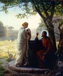Woman at the Well by  Carl Heinrich Bloch (Painting ID: DV-2074-KA)