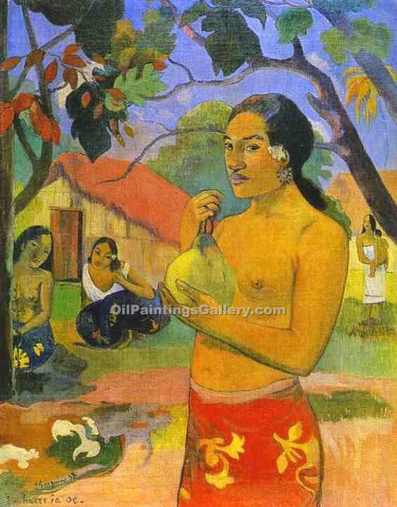 """Words of the Devil 28"" by  Paul Gauguin"