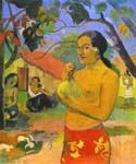 Words of the Devil 28 by  Paul Gauguin (Painting ID: GA-0328-KA)