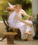 Work Interrupted by  Adolphe Bouguereau (Painting ID: DA-7087-KA)