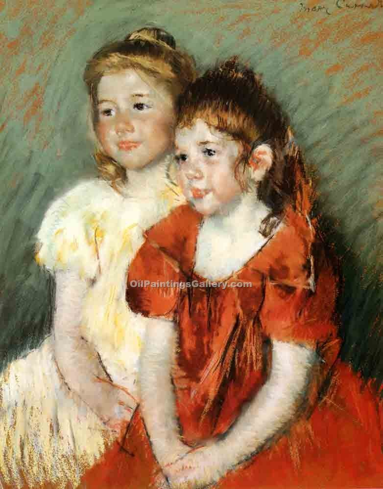 """Young Girls"" by  Mary Cassatt"