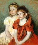 Young Girls by  Mary Cassatt (Painting ID: EI-0019-KA)