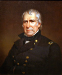 Zachary Taylor, 12th President, Painted by James Reid Lambdin  (Painting ID: CM-0012-KA)