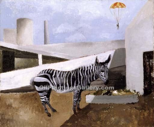 """Zebra and Parachute"" by  Christopher Wood"