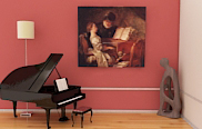 Music Room Oil Paintings