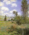 lle Saint Martin Vetheuil by  Claude Monet (Painting ID: MO-1190-KA)
