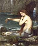 A Mermaid by  John William Waterhouse (Painting ID: CL-4185-KA)