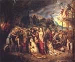 Aeneas and His Family Departing from Troy by  Peter Paul Rubens (Painting ID: CM-1496-KA)