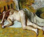 After the Bath 3 by  Edgar Degas (Painting ID: ED-1023-KA)