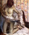 After the Bath by  Edgar Degas (Painting ID: ED-1021-KA)
