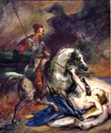 Allegory of Fall of the November Uprising by  Ary Scheffer (Painting ID: ER-0163-KA)