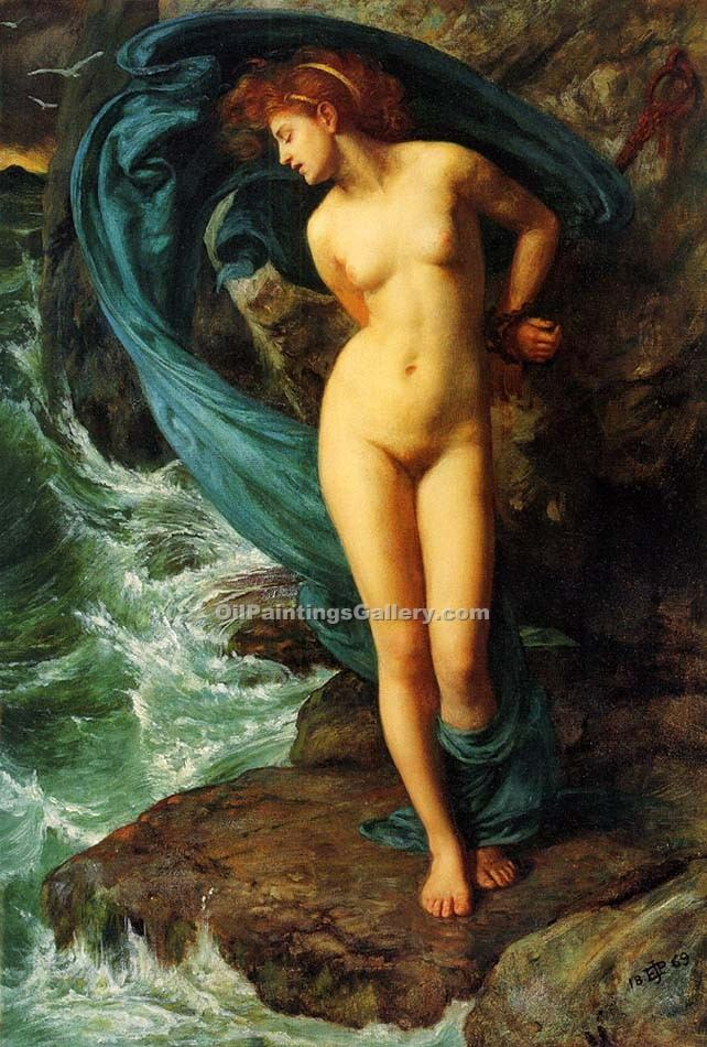"""Andromeda"" by  Sir Edward John Poynter"